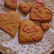 バニラビーンズ香る♪本命バレンタインさくさくハニーバタークッキー