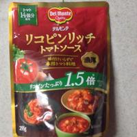デルモンテ リコピンリッチ トマトソースでシーフードナポリタン