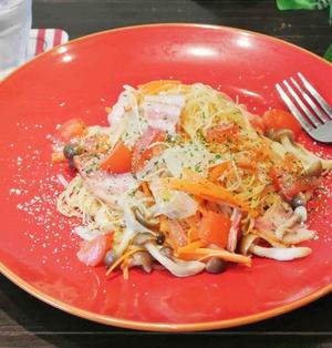 野菜たっぷりイタリアンビーフン