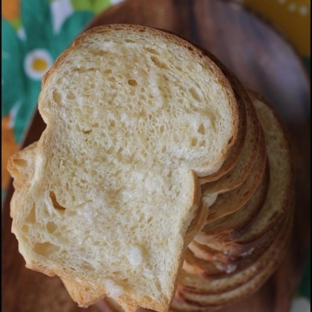 ミニ食パンでラスク♪