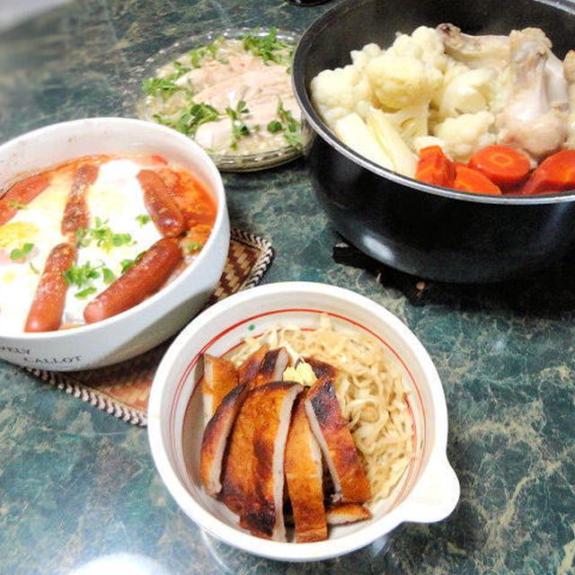 1月5日献立★野菜が高いよね(T_T)脈略もなく家にある食材と特売で作ってみた献立