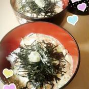 納豆ツナ丼