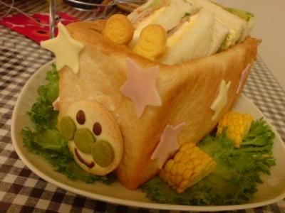 アンパンマン!のサンドイッチ号!!