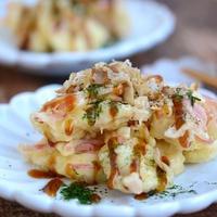 【作り置きレシピ】サクサク揚がる天ぷら粉で鶏むね肉のお好み天ぷら
