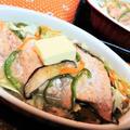 【レシピ】秋の味覚!北海道名物を手軽に食卓に!【秋鮭のチャンチャン焼き風】#旬のおかず#秋鮭