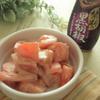 トマトの禁断の黒胡椒マヨ和え