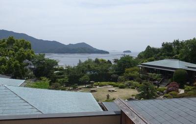広島の宮浜温泉にある石亭に行ってきました