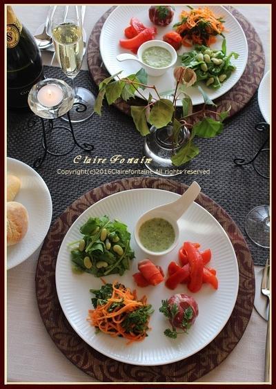 YASA・ITARIAN(野菜イタリアン)プレート♪