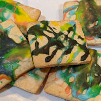 "Abstract ""Pollock' Cookie"