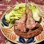 ラムのモーレポブラーノ(チョコ入りソース)。不思議だけどおいしいメキシカンのレシピ。