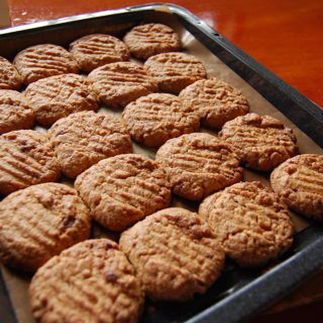 おばあちゃんのピーナツバタークッキー
