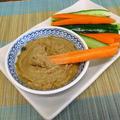 中華風ピリ辛胡麻ディップでスティック野菜
