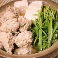 【モニター】 ミツカン味ぽんDEごぼう入り肉団子とせりの鍋