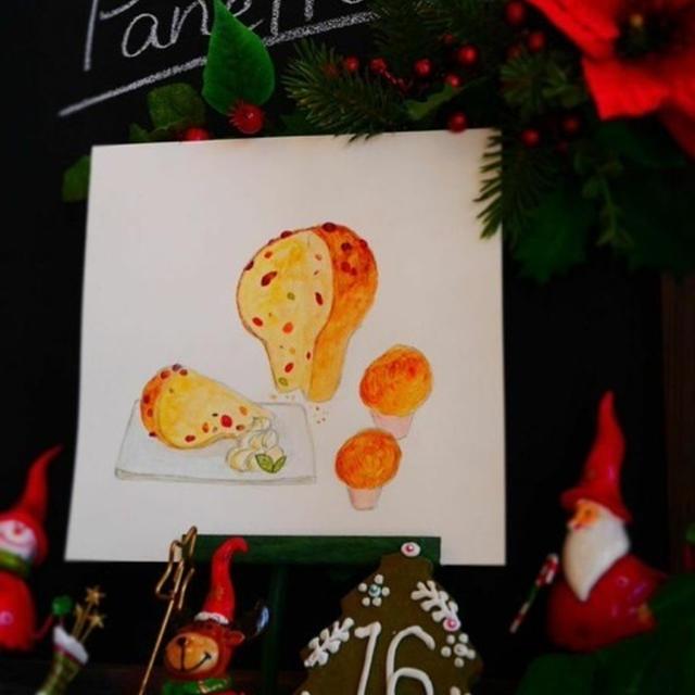 2014*Xmas Advent calendar*Dec.16*Panettone♪パネトーネ