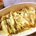 白菜激ウマ。エスニック豚の白菜ミルフィーユチーズ焼き。(糖質2.9g) by ねこやましゅんさん