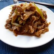ご飯がすすむ!豚バラ肉と長ネギの甘辛炒め♪
