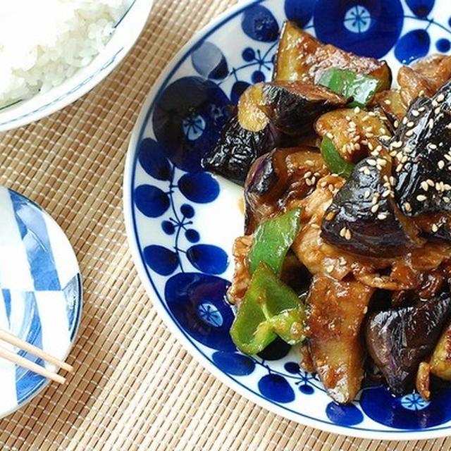 山盛りご飯と食べたい♡絶品!茄子と豚の甘辛味噌炒め【日記パート2】