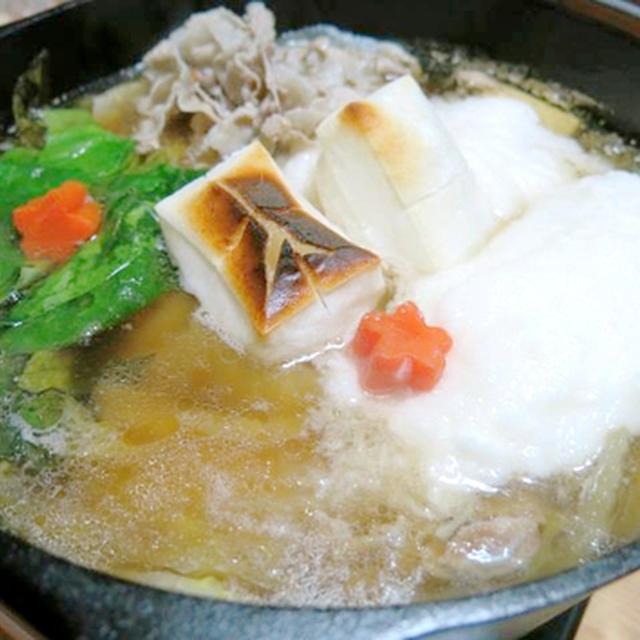 今日の晩御飯/ダッチオーブンで作る「豚バラとろろ鍋」は、ふわふわとろとろ感がやみつきになる冬鍋です。