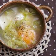 落とし卵でボリュームアップ!朝食にもオススメの汁物レシピ