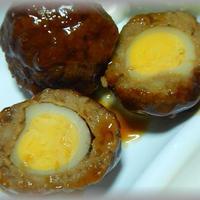 うずら卵入りスコッチエッグ