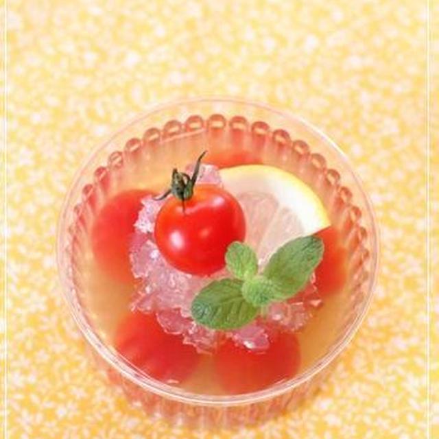ミニトマトのはちみつレモンゼリー* レシピ