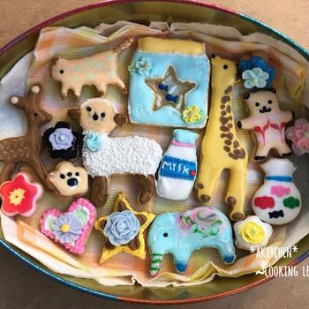 【レッスンレポ】芽室町「教えて先生」アイシングクッキーを作ろう♪