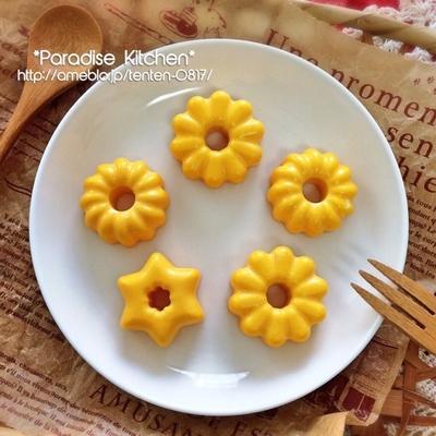 セリアのミニドーナツ型で♡私のお弁当定番!簡単&可愛い蒸し卵