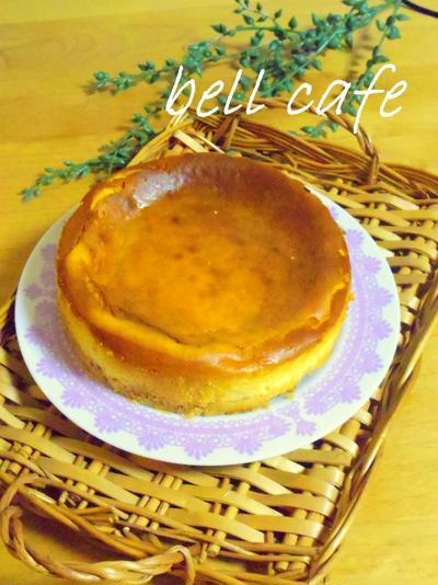 ヨーグルトがポイント☆ベイクドチーズケーキ