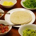 タコス と インゲンのスープ