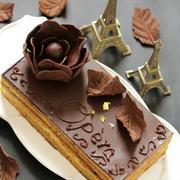* バレンタイン ♡ オペラ風 チョコレートケーキ♪ by Aliceさん