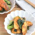 ごはんがすすむ!鮭と小松菜のカレー炒め