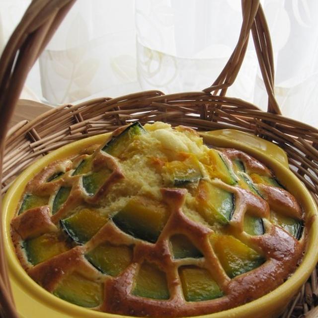 南瓜とモッツァレラのホットケーキ