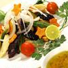 イタリアンフルーティーソースで戴く秋サラダ