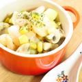 マッシュルームと海老のポテトクリーム煮