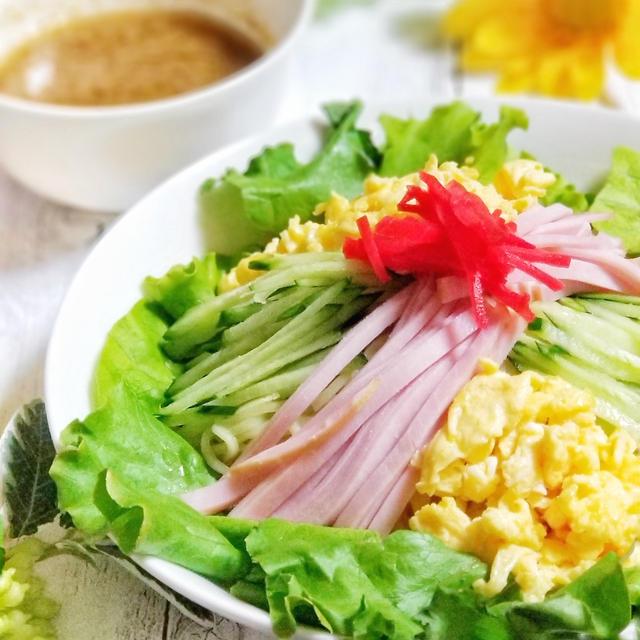 夏に食べたい!ごまの風味がたまらない!ごまだれ冷やし中華