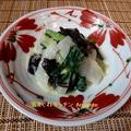 わかめとイカのぬた&春キャベツのシンプルステーキ(レシピ付)。 by musashiさん