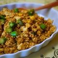 カレー風味のヘルシー豆腐そぼろ&素敵な贈り物♪ by とまとママさん