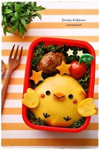 卵でデコって可愛いキャラ弁を作ろう♪子どもが喜ぶキャラ弁レシピまとめ
