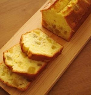 さつまいもパウンド☆さつまいもとはちみつのケーキ