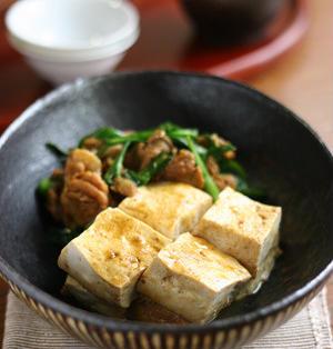 肉豆腐カレー風味