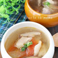 スイカの皮レシピ第2弾!鶏もも肉とスイカの皮の絶品スープ