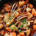 ★いかと根菜のコチュジャン煮込み。 by いもさん