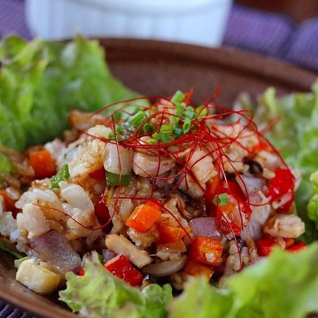焼肉のたれで作る韓国風炒飯