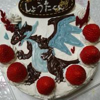 バースデイケーキに ☆メガリザードンX☆