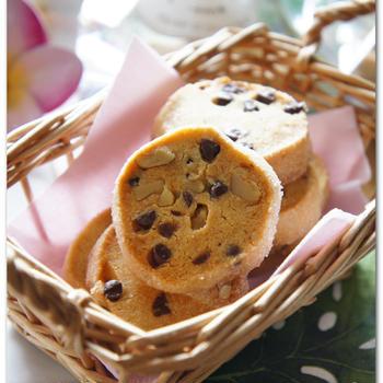 チョコとくるみのスパイシークッキー