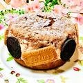 チョコ生クリームをサンドしちゃった♪ふんわりチョコレートケーキ♡
