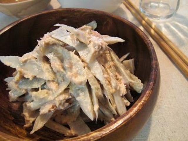 ツナマヨで激ウマ!ごぼうサラダ