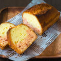 イチゴとミルクのパウンドケーキ by monamiさん