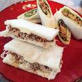 鯖の味噌マヨサンド&鯖味噌シソロール