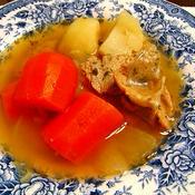 安い根菜を使って、ハーブが香る 簡単オレガノ・ポトフ